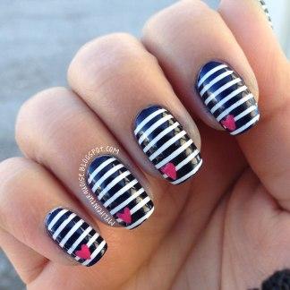 Résultats de recherche d'images pour «nail art ligné»